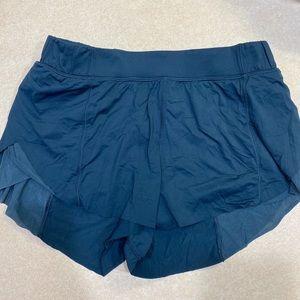 Blue Lululemon Shorts Size 4